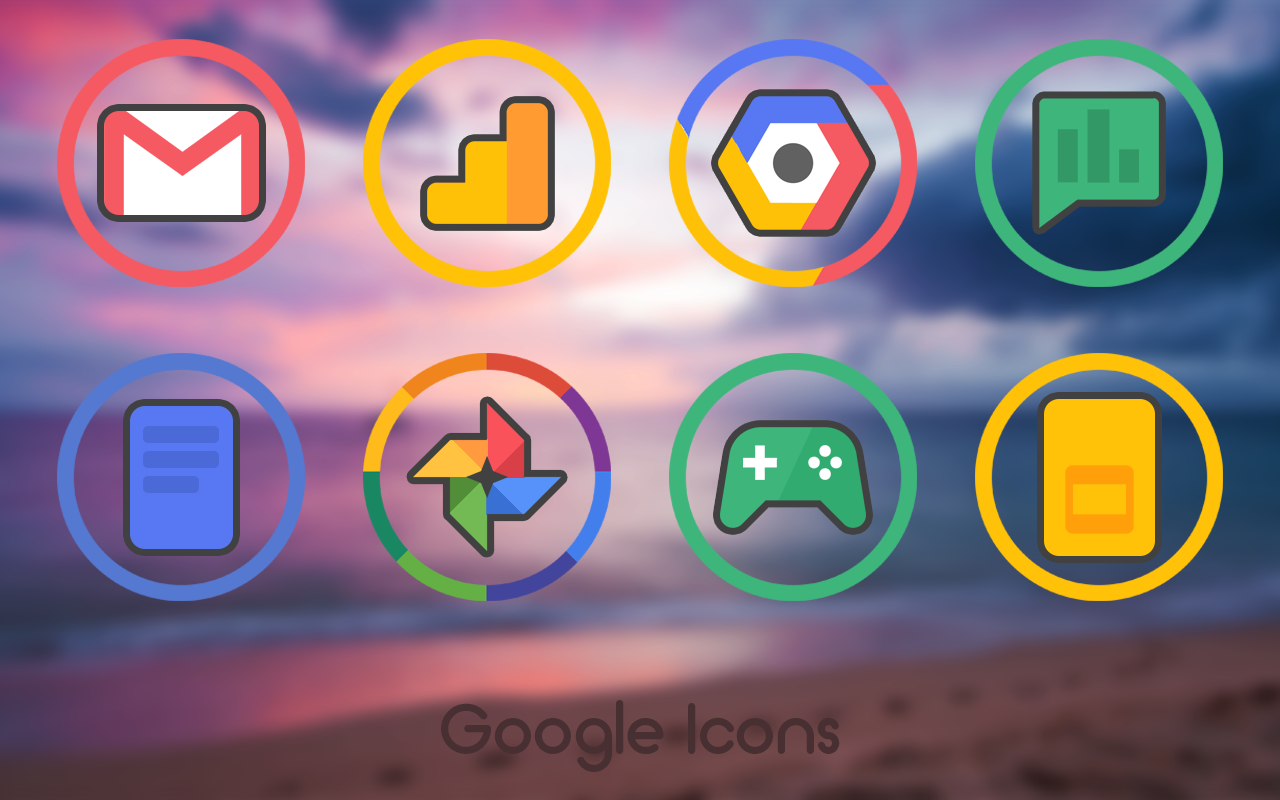 Gyre - Icon Pack Screenshot 0