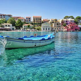 by Nikos Diavatis - Transportation Boats