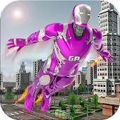 Flying super hero survival free games
