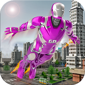 Flying super hero survival free games For PC