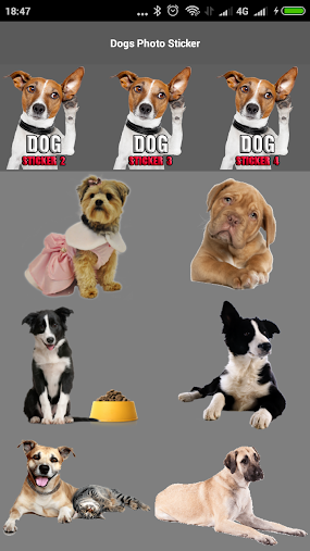 Dogs Photo Sticker APK