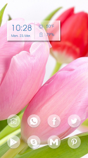 Pink Tulips - screenshot