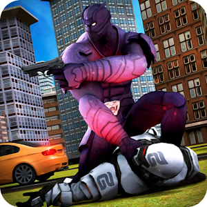 Download Grand Immortal Panther Hero vs Flying Iron Robot For PC Windows and Mac