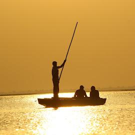 sunset by Gunj Modi - Nature Up Close Water (  )