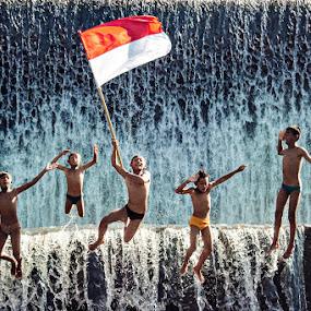 Independance Day by Mario Wibowo - Babies & Children Children Candids ( studio, bali, mario, 2013, mario wibowo, indonesia, kelapa gading, travel, trip, wibowo, tour, mwp )