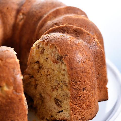 Morning Glory Bundt Cake