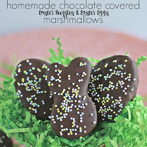 Easter Cutout Marshmallows
