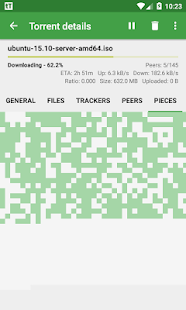 tTorrent Lite – Miniaturansicht des Screenshots