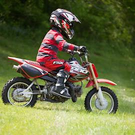 Rider by Peter Bartovic - Babies & Children Children Candids