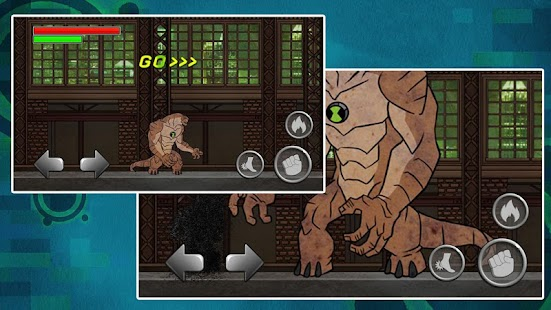 Game Alien Ben Humansaur Transform apk for kindle fire