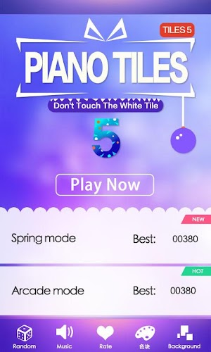 Piano Tiles 5 Android App Screenshot