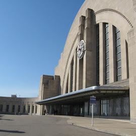 Art Deco Train Terminal/Cinti by Rebecca Oyer - Buildings & Architecture Public & Historical (  )