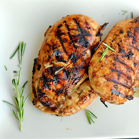 Grilled Rosemary and Balsamic Chicken