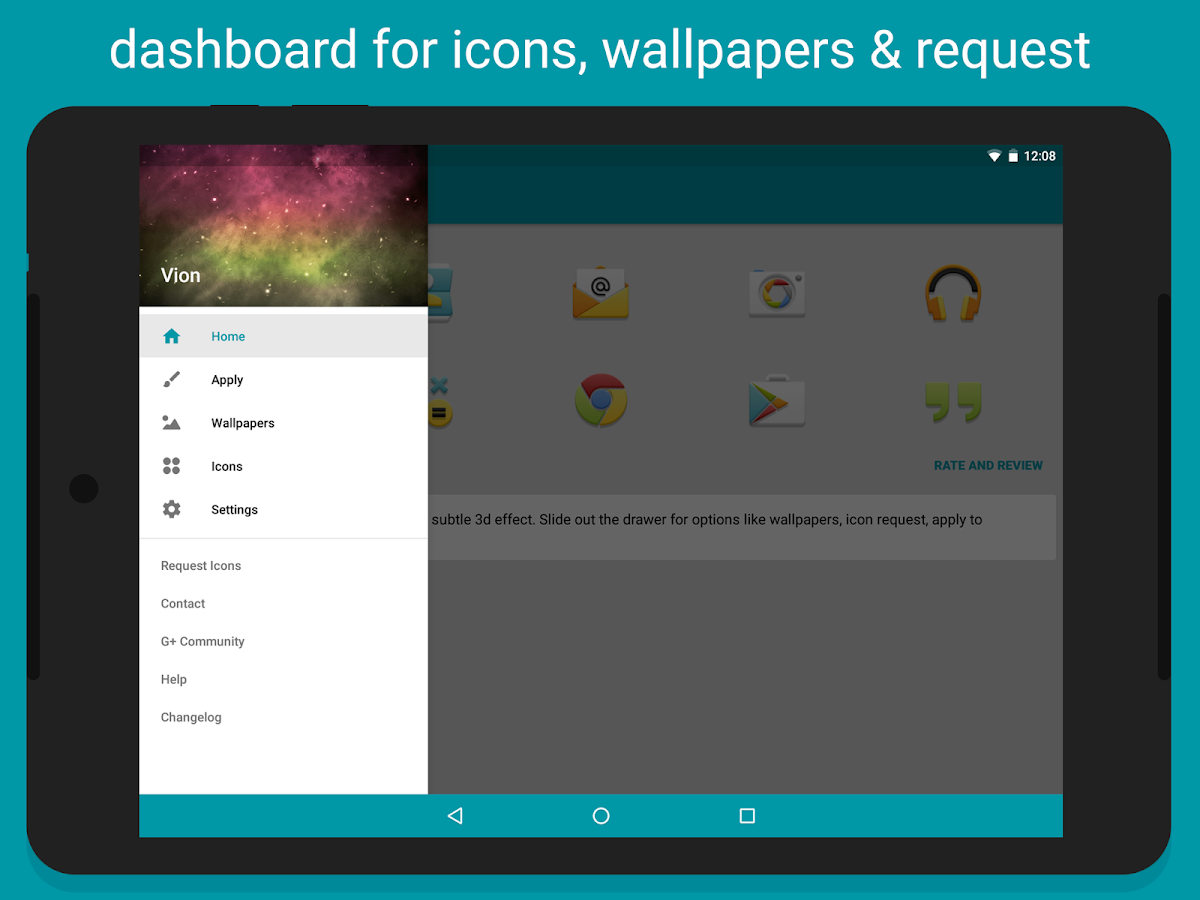 Vion - Icon Pack Screenshot 11