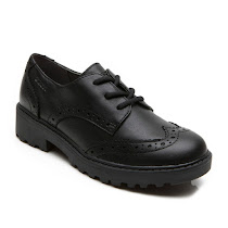Geox Casey Brogue Shoe LACE UP SCHOOL