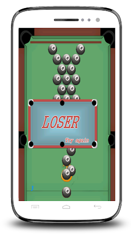 android Piscine 8 Ball Shooter Screenshot 5