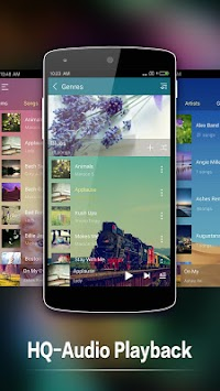 Music Player For Android APK screenshot thumbnail 2
