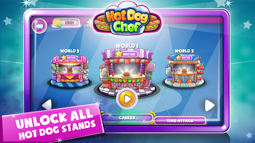 Hot Dog Chef: Cooking Rush - screenshot