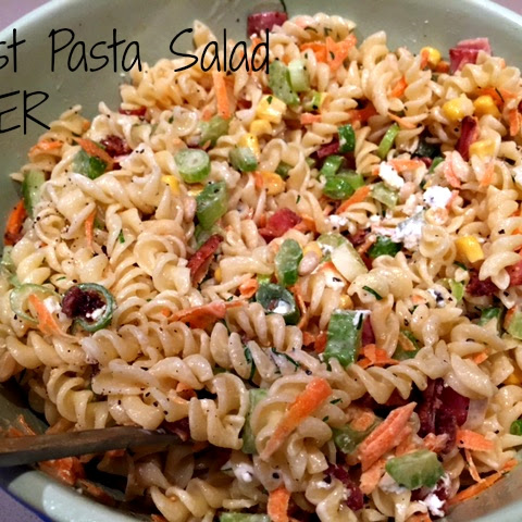 Pass the Pasta Salad please!