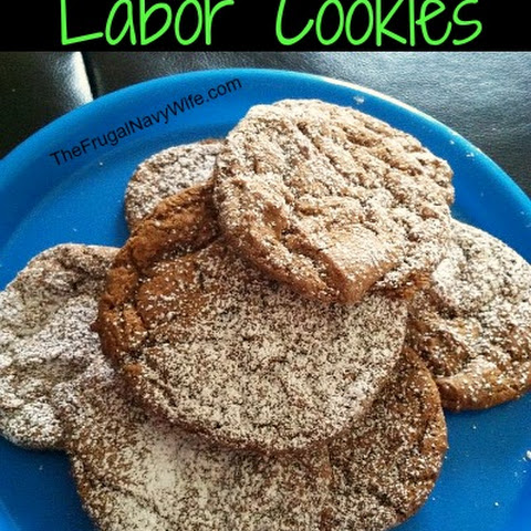 Labor Inducing Gingersnap Cookie