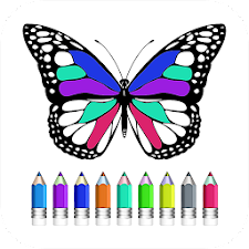 Coloring Book Of Butterfly
