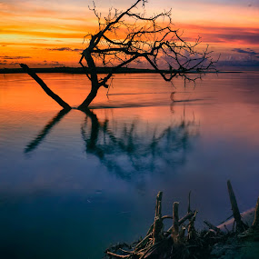 Iyok Beach by Firmansyah Goma - Landscapes Sunsets & Sunrises