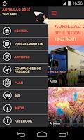 Screenshot of Festival Aurillac