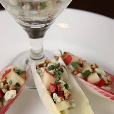 Appetizers Part Deux – Endive with Blue Cheese and Pecans