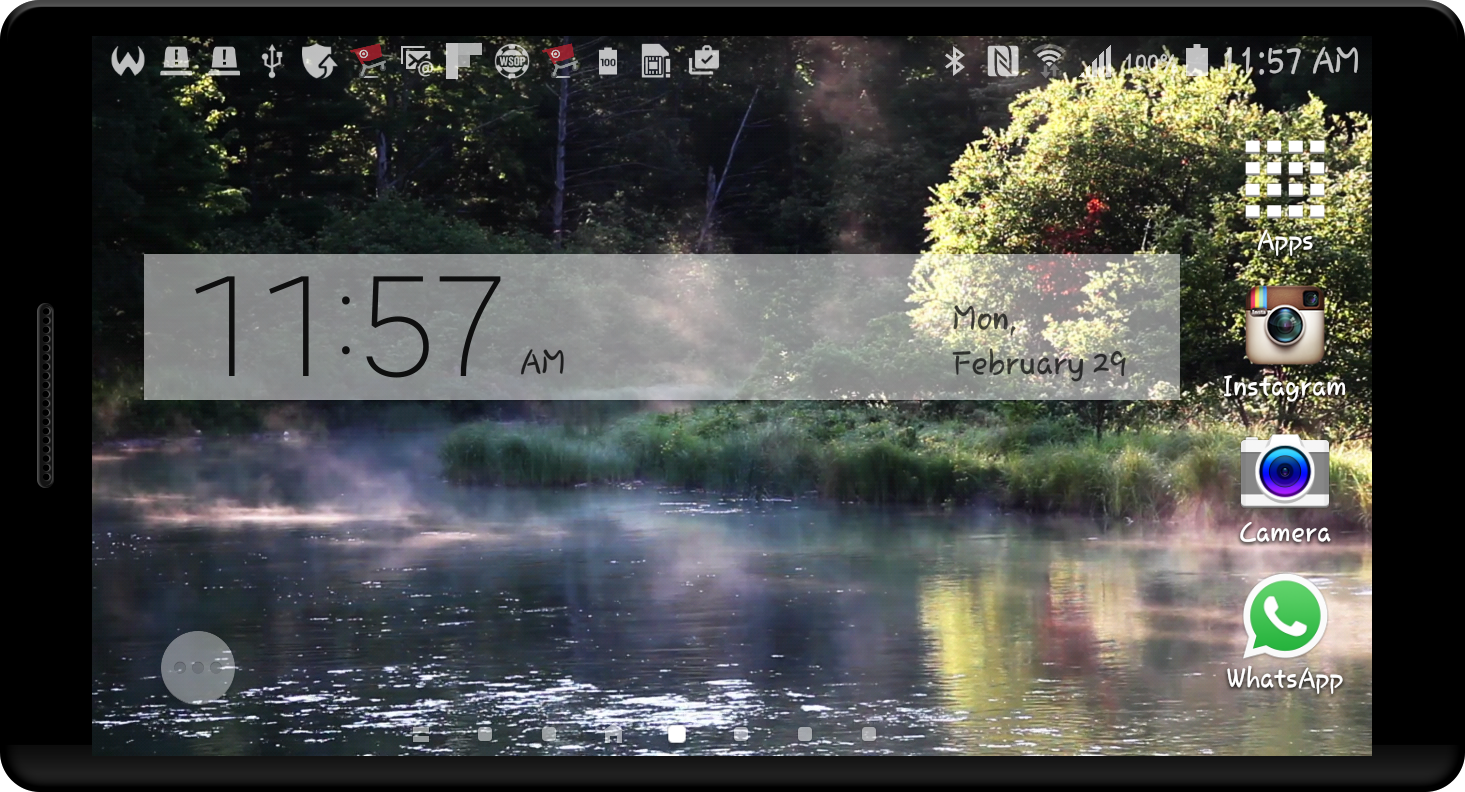 Peaceful River HD LWP Screenshot 7
