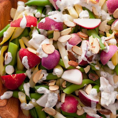 Asparagus, Green Bean, and Wax Bean Salad Recept | Yummly