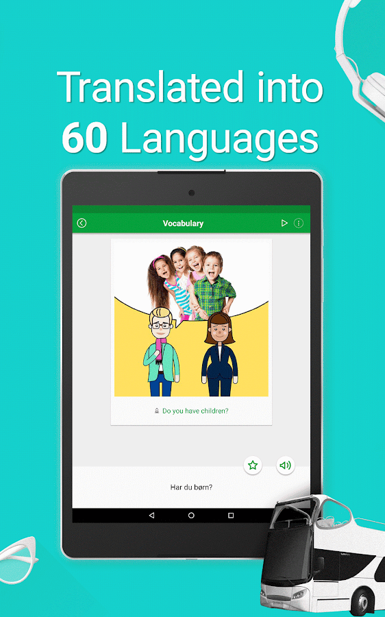 Learn Danish - 5000 Phrases Screenshot 17