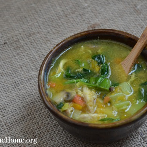 Detoxifying Chicken and Vegetable Soup