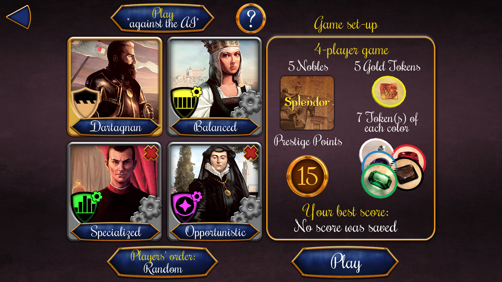 Splendor Screenshot 2