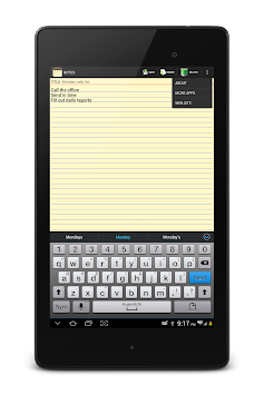 NOTES APK screenshot thumbnail 19