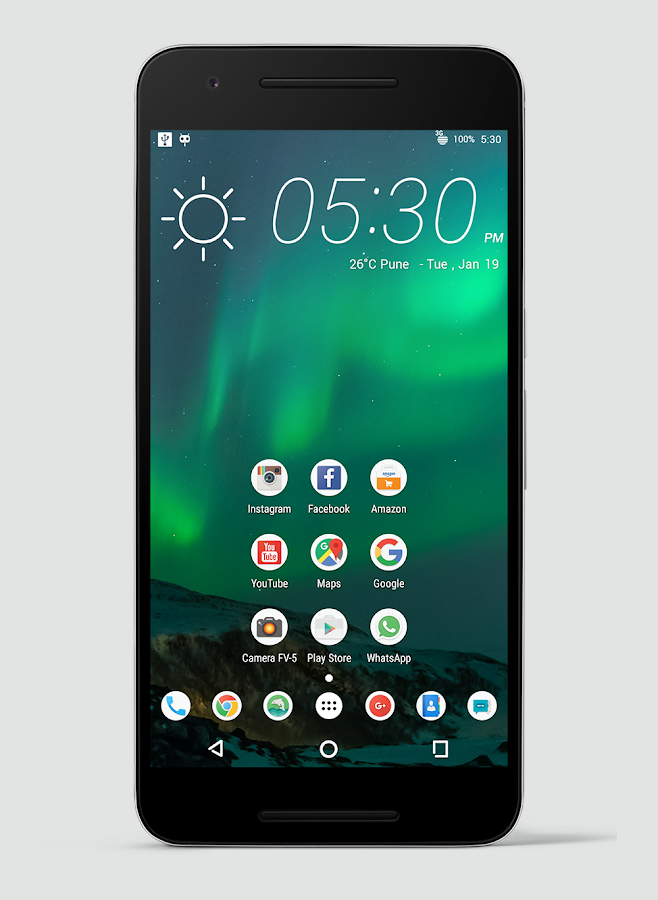 DesireUI CM13 CM12/12.1 Theme Screenshot 2