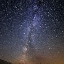 Matterhorn & Milky Way by Tomáš Culka - Landscapes Starscapes