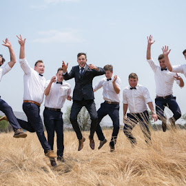 Happiness by Lodewyk W Goosen (LWG Photo) - Wedding Groups ( groomsmen, wedding, getting ready, wedding photogrpahers, wedding photographer, marriage, groom )