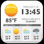 Newspaper Style Weather Widget APK for Bluestacks