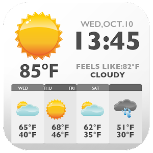 Download Newspaper Style Weather Widget