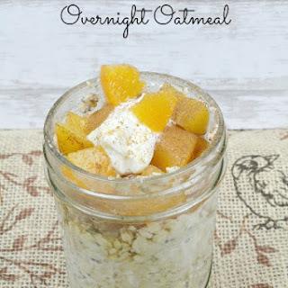 Peach Cobbler Oatmeal Recipes