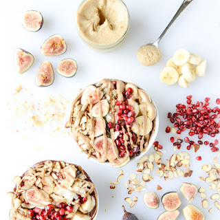 Autumn Acai Bowls with Vanilla Bean Cashew Butter