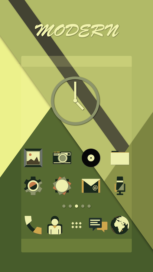 Modern Icons - Icon Pack Screenshot 0