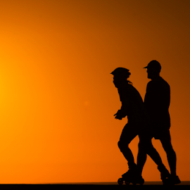 Sport  at Sunset  by Yuval Shlomo - Sports & Fitness Running