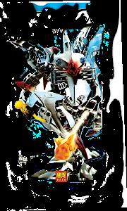 """Конструктор """"RoboBlock"""" Серый Воин M"""