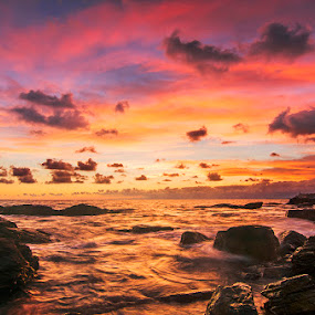by Luca Rosacuta - Landscapes Waterscapes ( clouds, waterscape, sunset, sea, landscape )