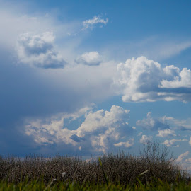 Venera blue by Bojan Mršić - Landscapes Cloud Formations ( blue sky, blue, white clouds, haven, venera hill, cloud formation,  )