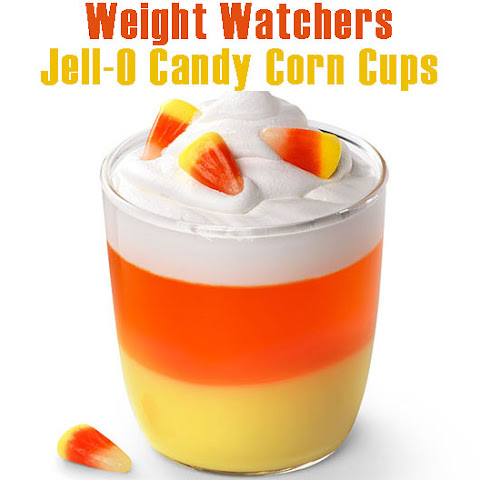 JELL-O CANDY CORN CUPS 6 WW POINTS PLUS 5 WW OLD POINTS