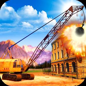 Excavator Wrecking Ball Demolition Simulator For PC / Windows 7/8/10 / Mac – Free Download