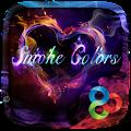 App Smoke Colors GO Launcher Theme apk for kindle fire