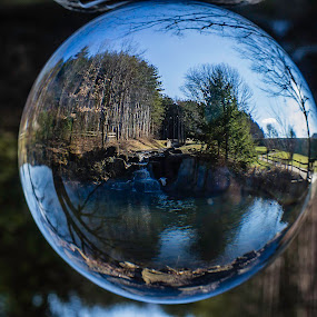View Through Glass by Michael Mounts - Artistic Objects Glass